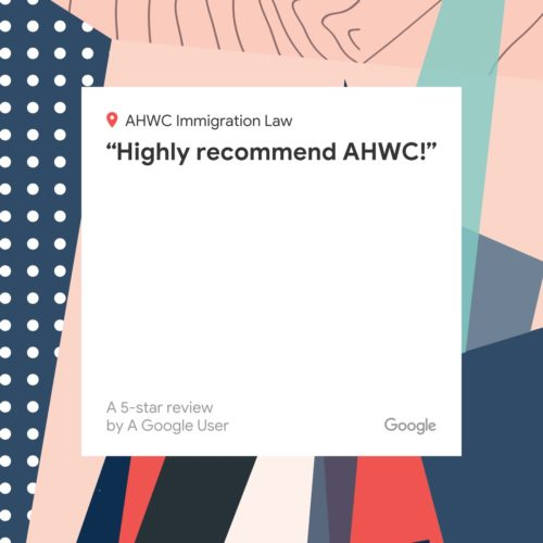 Highly Recommend AHWC