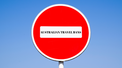 Australian Travel bans